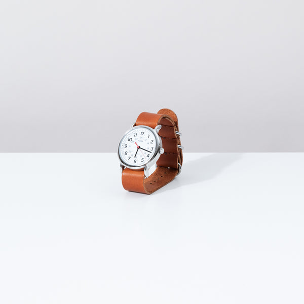 Simple Watch - Cognac