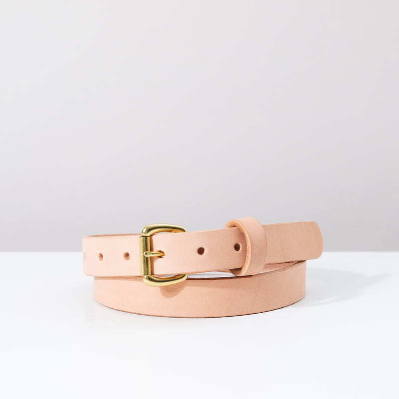 Slim Belt - Natural