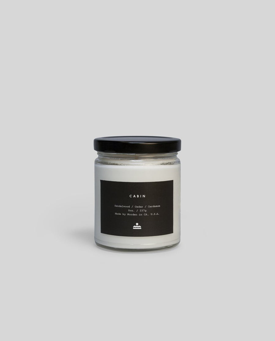 Norden Cabin 8 oz. Jar Candle