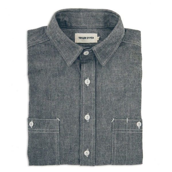 The California - Charcoal Everyday Chambray