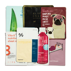 7-Day Sheet Mask Challenge