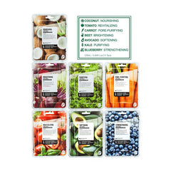 SUPERFOOD FOR SKIN MASK SET – DRY SKIN