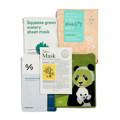 HYDRATING & REVITALISING PREMIUM SHEET MASK SET