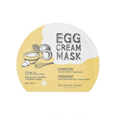 EGG CREAM MASK – HYDRATION