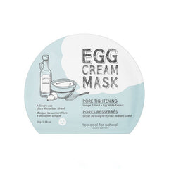 EGG CREAM MASK – PORE TIGHTENING