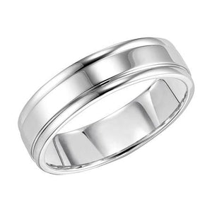 14kt Polished Comfort Fit Wedding Band