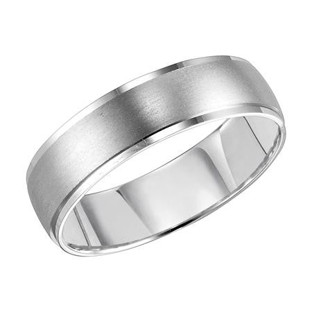 14kt Satin Finish Wedding Band