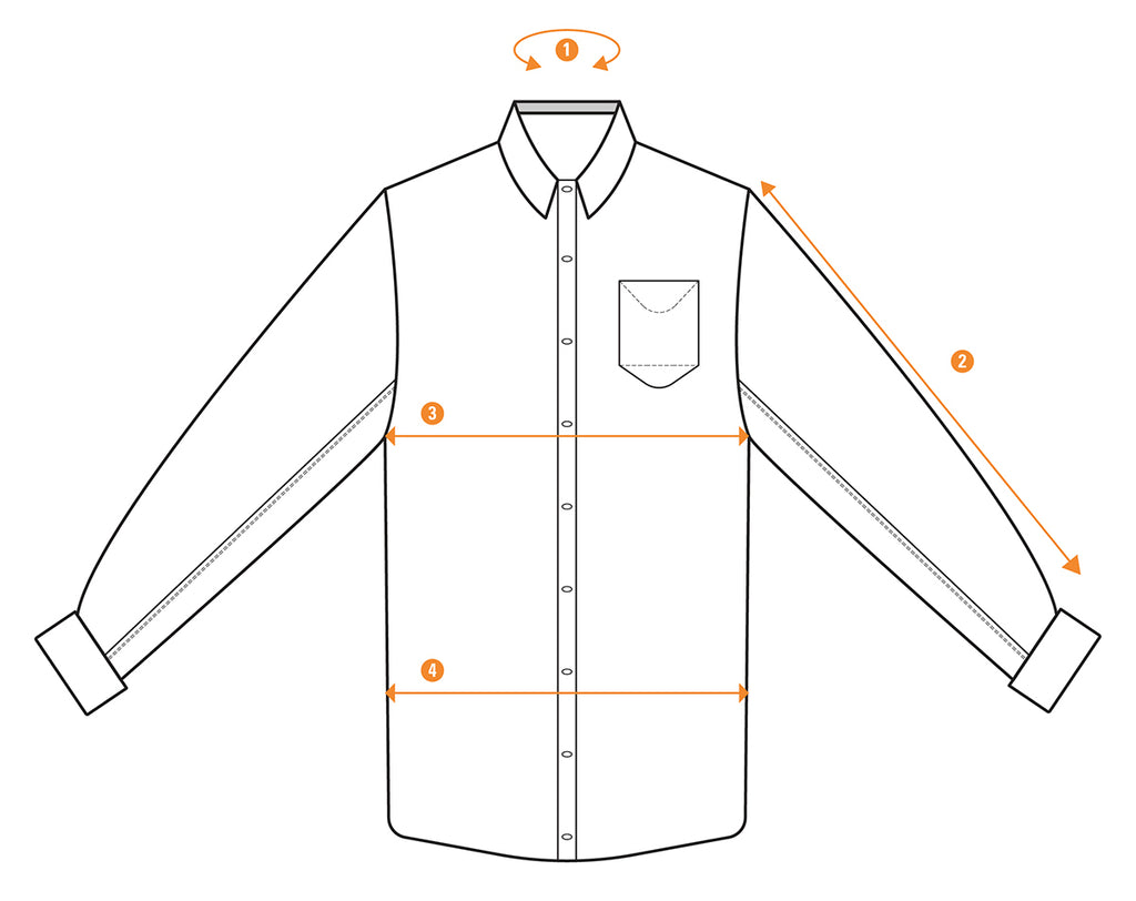 Men S Shirt Measurements Get Your Size Right Duer