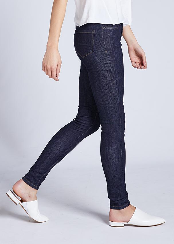 Dish by DUER Adaptive Denim Skinny - Rinse