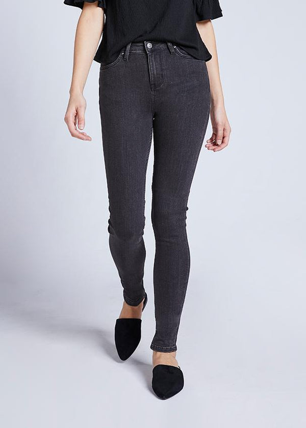 Dish by DUER Adaptive Denim High Rise Skinny - Volcanic
