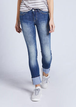 Dish by DUER Adaptive Denim Straight & Narrow - Elora