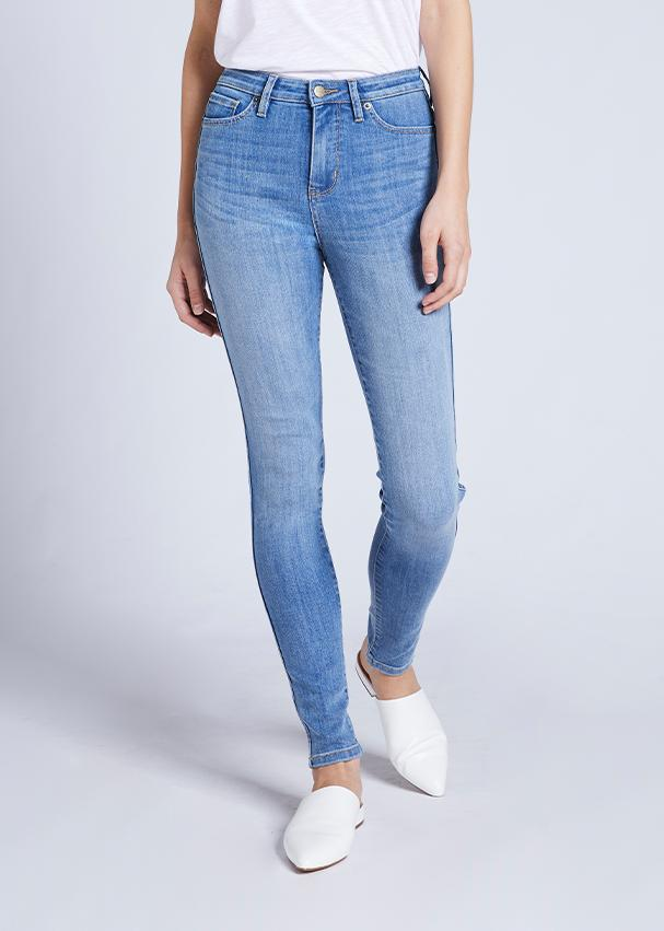 Dish by DUER High Rise Skinny - Seabrook