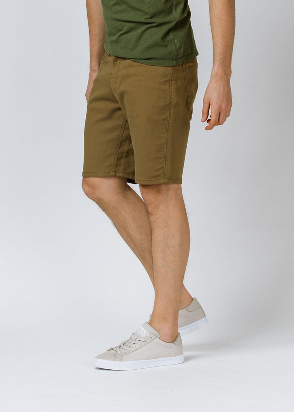 No Sweat Relaxed Fit Short - Tobacco