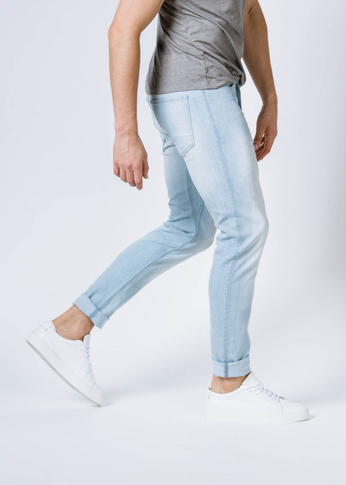 Performance Denim Slim - White Out
