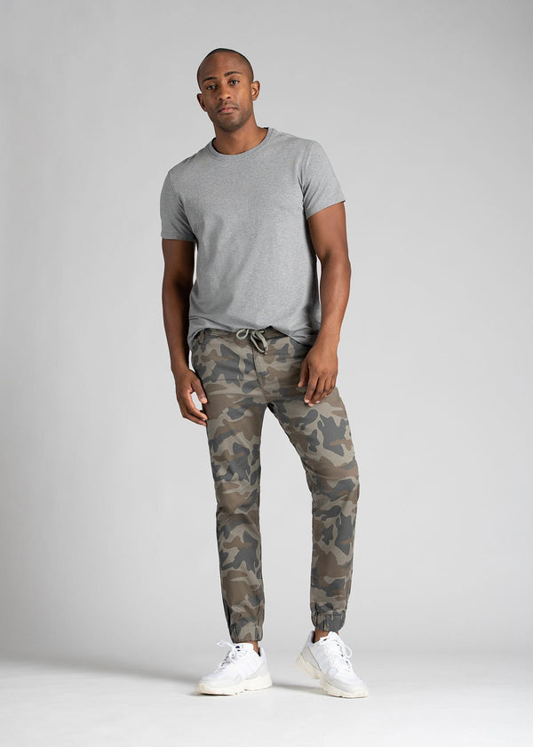Mens Water Resistant Jogger Camo Coloured Full Body
