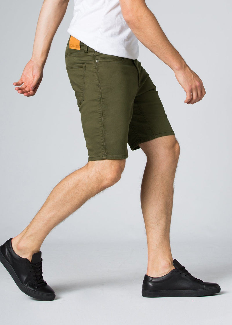 No Sweat Short - Army Green