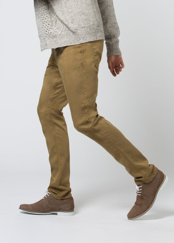 man wearing a mustard Relaxed Fit Sweatpant profile
