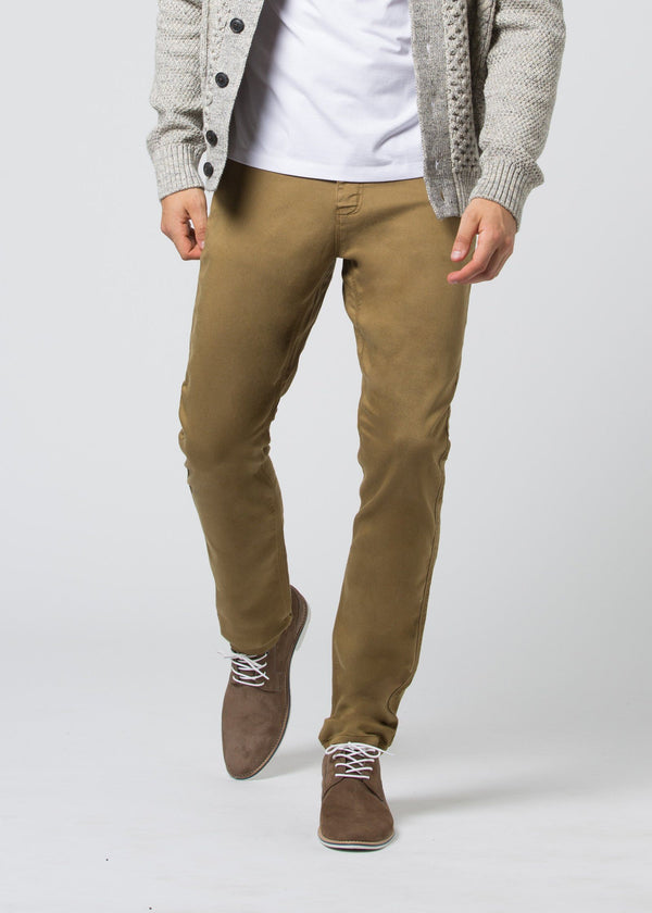 man wearing a mustard Relaxed Fit Sweatpant front