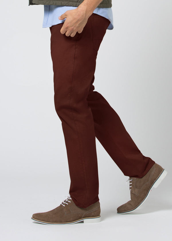 Live Lite Pant Relaxed - Oxblood