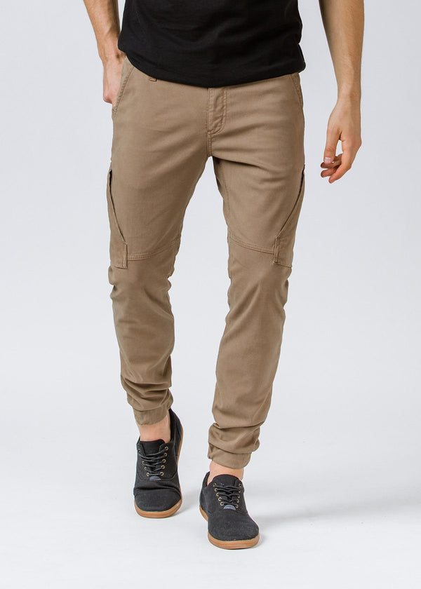 Khaki Athletic Waterproof Pant Front