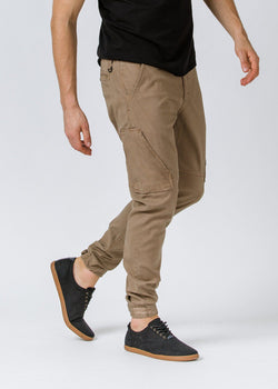 Khaki  Athletic Waterproof Pant Profile