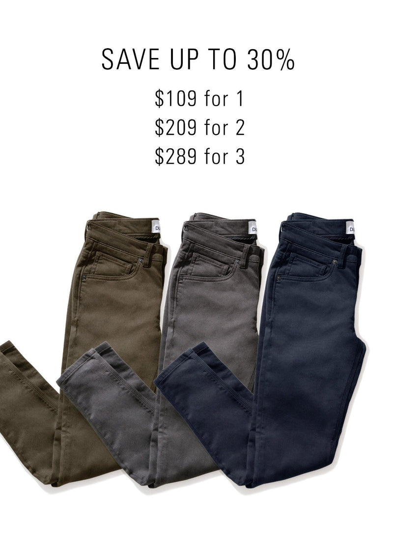 Bundle and save on the No Sweat Pant