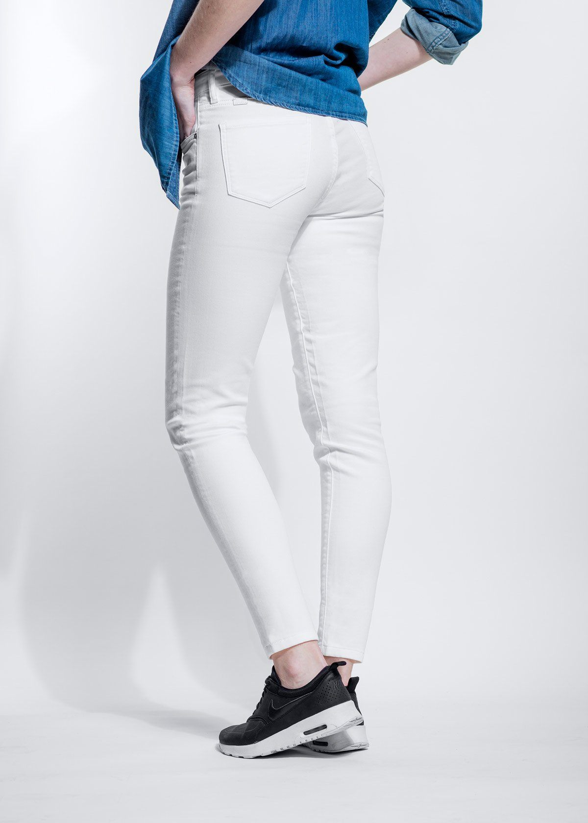 Dish by DUER Pant Skinny - White