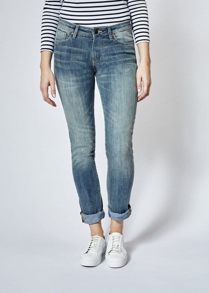 Performance Denim Straight & Narrow - Dirty Wash