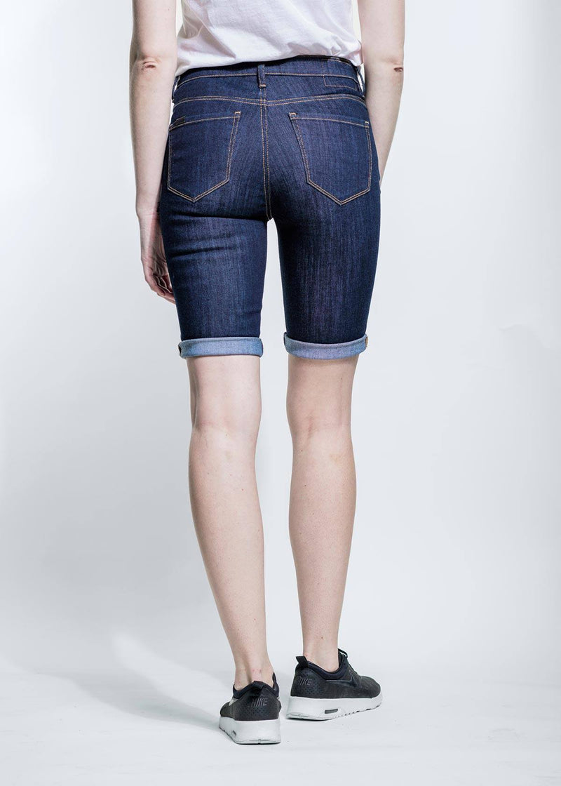 Performance Denim Commuter Short - Rinse