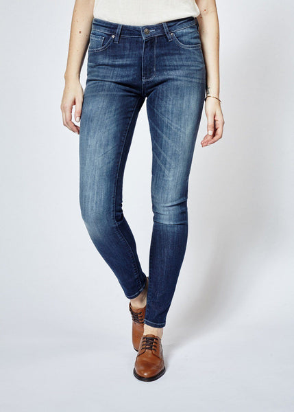 Performance Denim Skinny - Dark Stone
