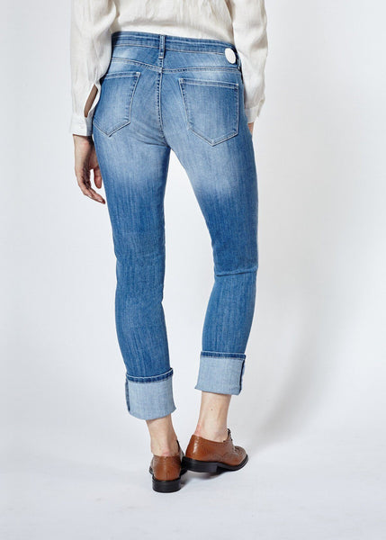 Performance Denim Straight & Narrow - Light Stone