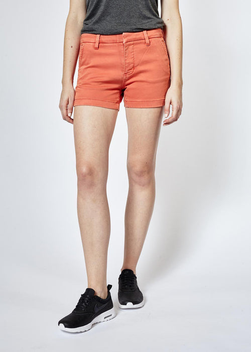 Dish by DUER No Sweat Short - Tangerine
