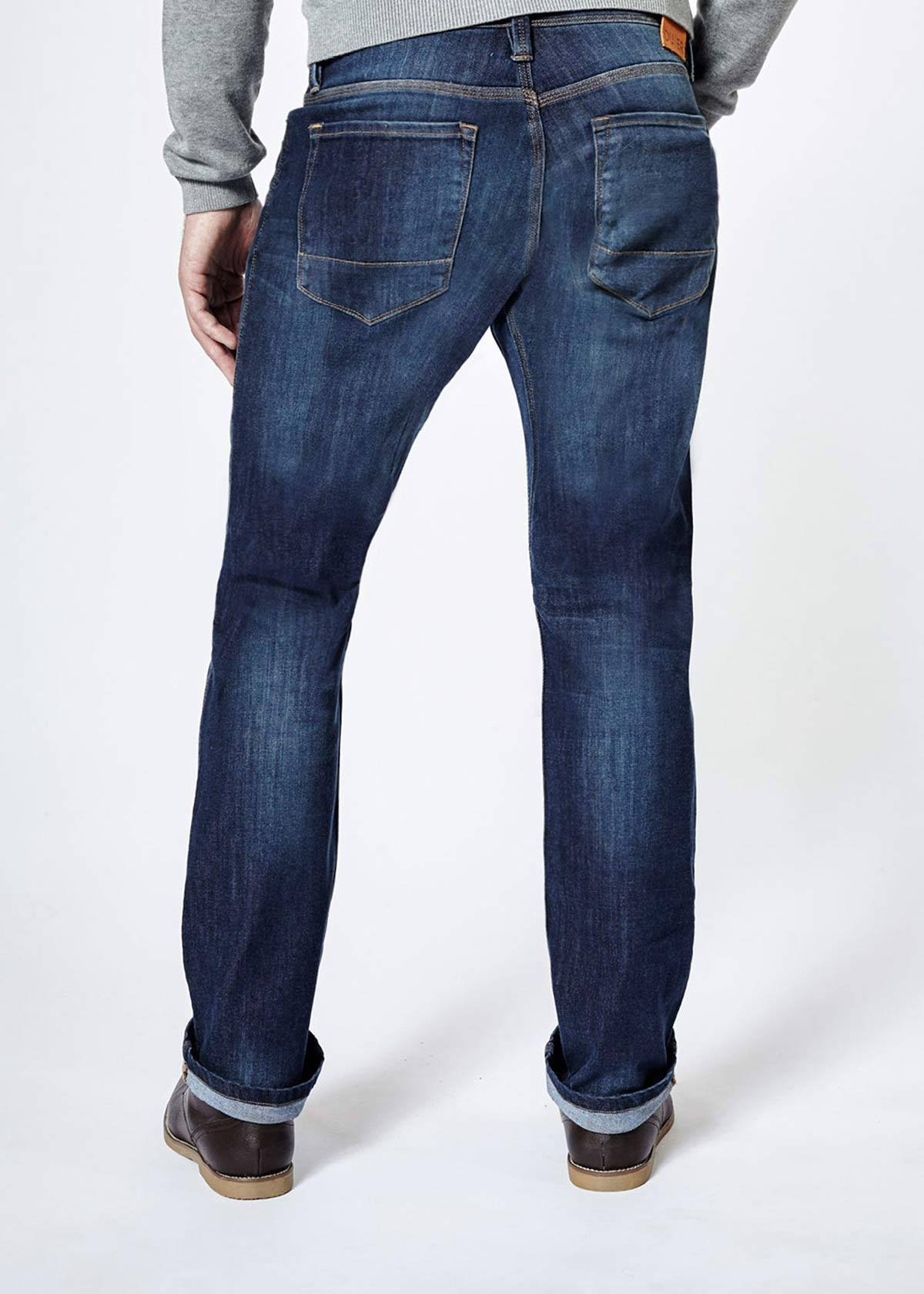 Performance Denim Relaxed - Medium Stone