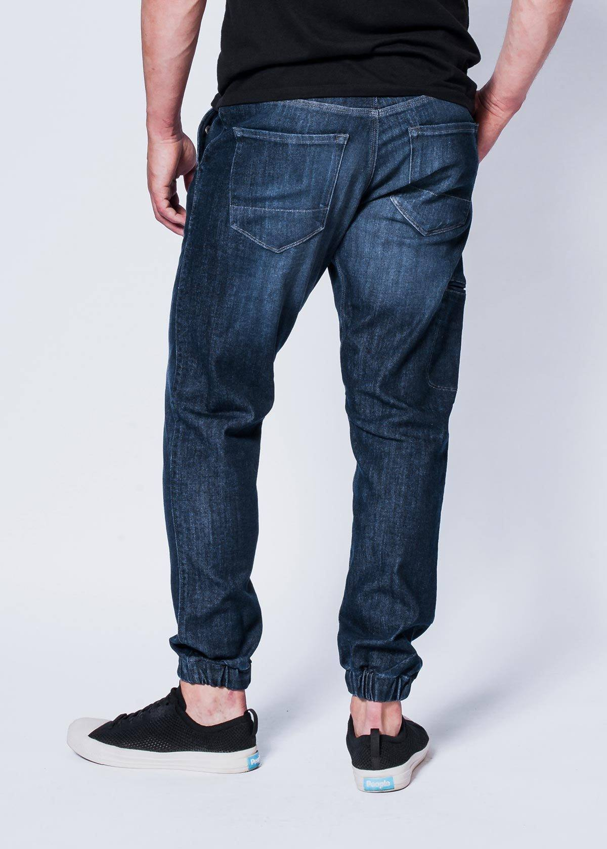 Performance Denim Jogger - Classic Indigo