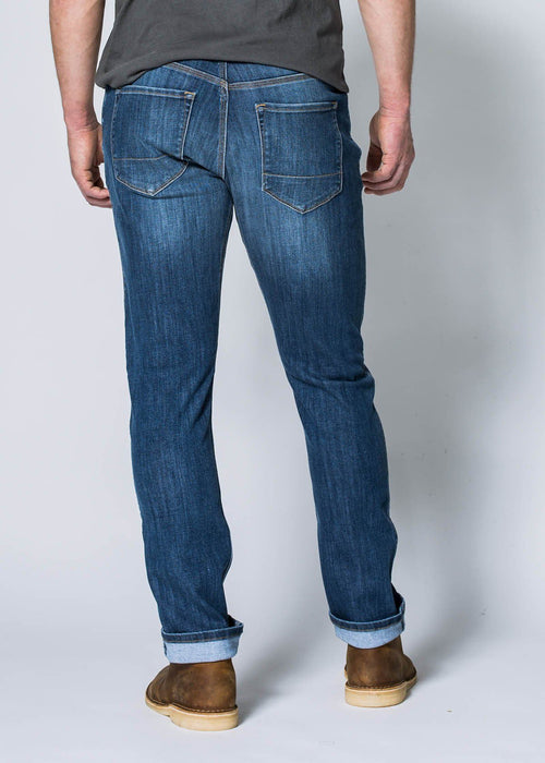 Performance Denim Relaxed - Worn Stone
