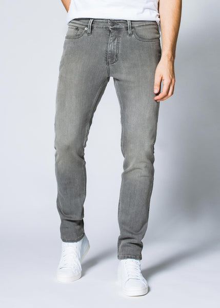 Performance Denim Slim - Faded Grey