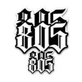 805 STICKERS - 4 PACK - 805 CLOTHING