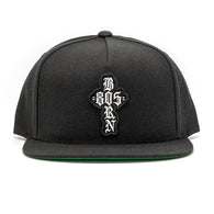805 BORN Hat Black With Patch