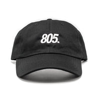 805 Balance Dad Hat In Black