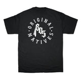 Original Natives Tee In Black With White - 805 CLOTHING