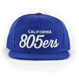 805ers Hat In Royal With White