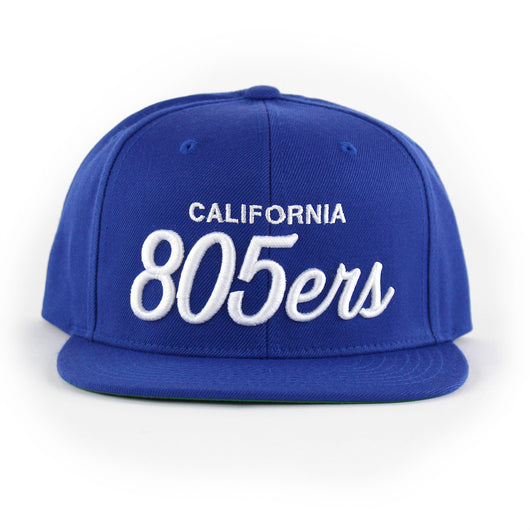 805ers Hat In Royal With White - 805 CLOTHING