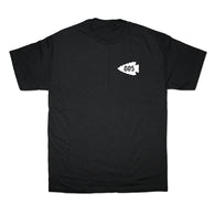 805 Arrowhead Tee In Black With White - 805 CLOTHING