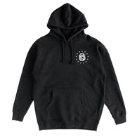 805 Athletics Hoodie In Black With White - 805 CLOTHING