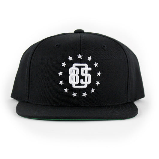 805 Athletics Hat In Black With White - 805 CLOTHING