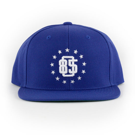 805 Athletics Hat In Royal With White - 805 CLOTHING