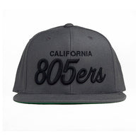 805ers Hat In Charcoal - 805 Clothing