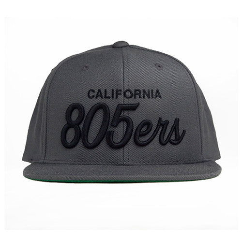 805ers Hat Charcoal With Black - 805 CLOTHING