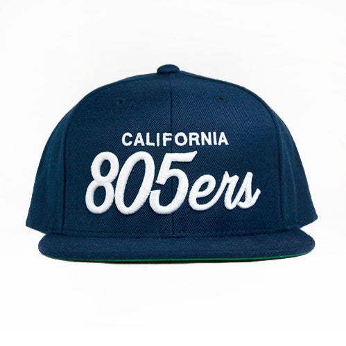 805ers Hat In Navy With White - 805 CLOTHING