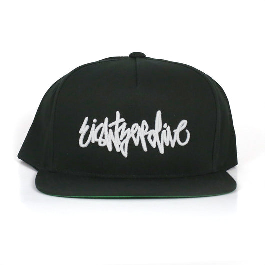 Eightzerofive Script Hat Black - 805 CLOTHING